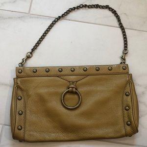Hobo gold clutch chain purse